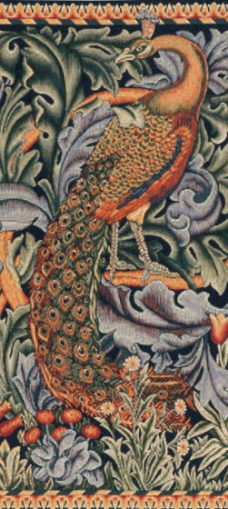 77652 William Morris Pauw 67x50 cm en 100x75 cm